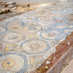 To go from Nazareth Village, with its dust paths and small huts, to Sepphoris, where the streets were paved with ornate tile mosaics, would have been quite a shock for Jesus.